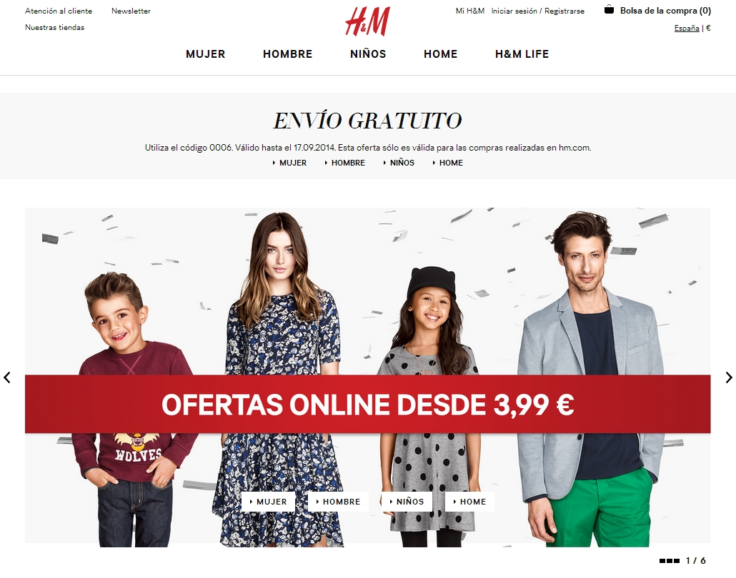 H&M has since it was founded in grown into one of the world's leading fashion companies. The content of this site is copyright-protected and is the property of H&M Hennes & Mauritz AB. United Arab Emirates. Customer Rights Logo.