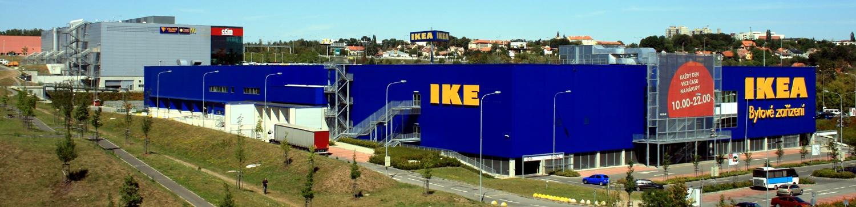 An IKEA store in Most, Czech Republic