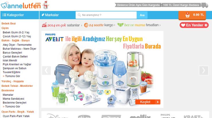 Turkish online store Annelutfen.com
