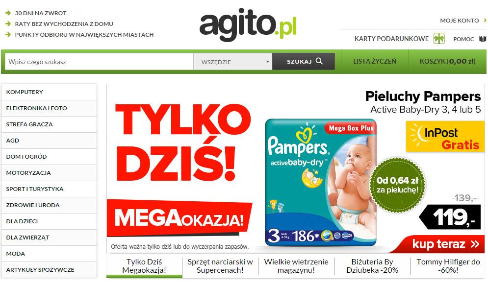 Polish online store Agito.pl
