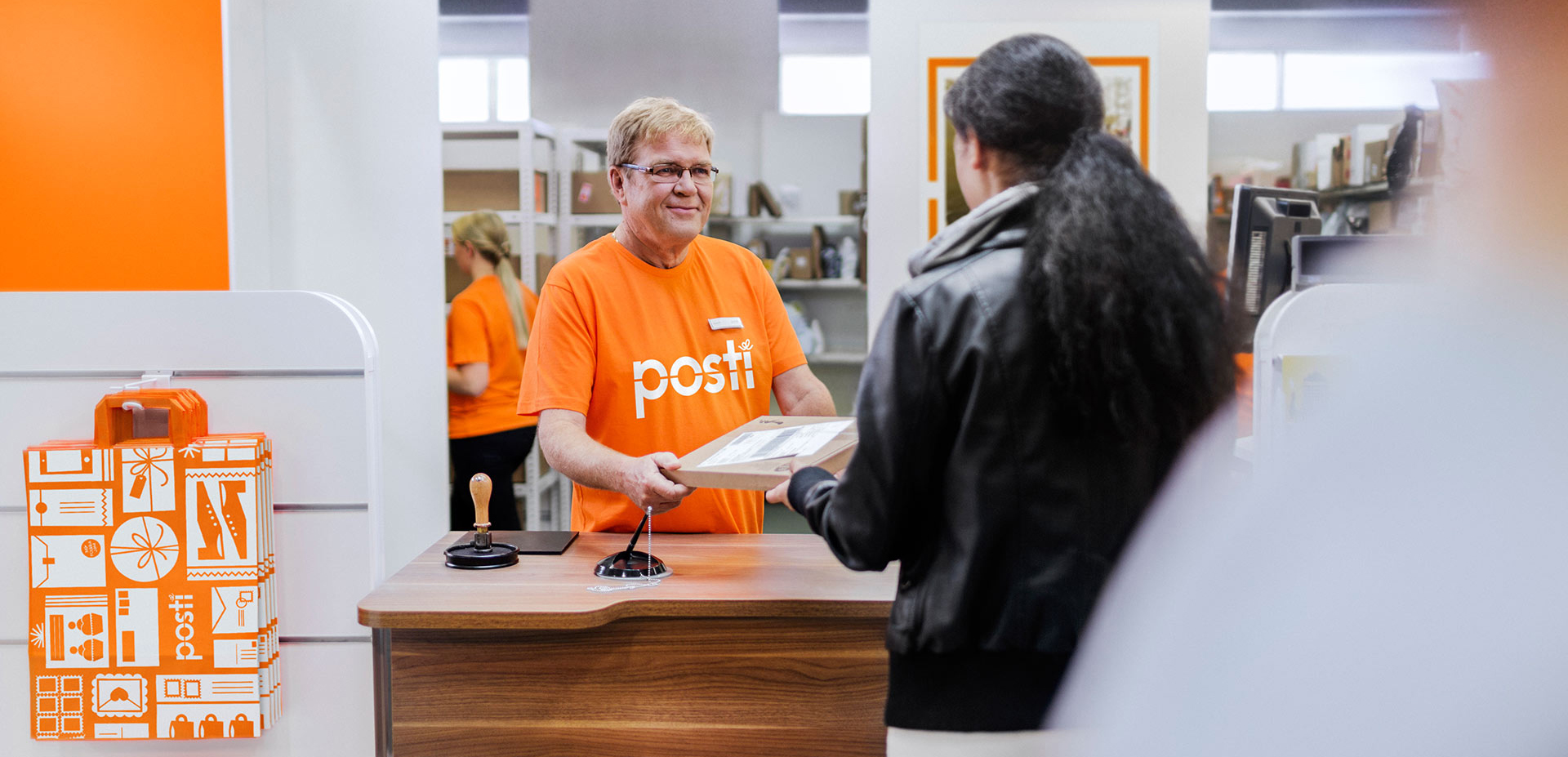 Parcel point of Posti
