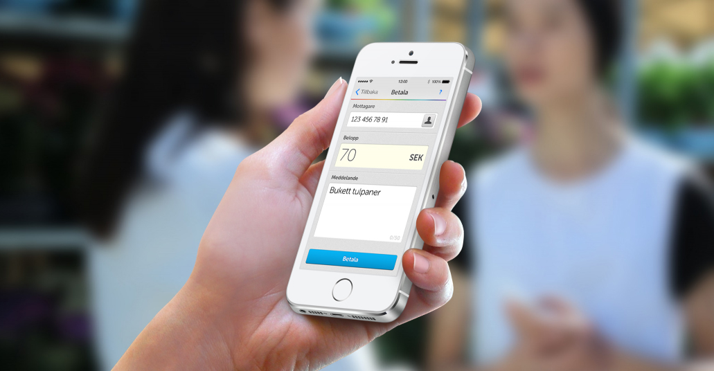 Mobile payments app Swish