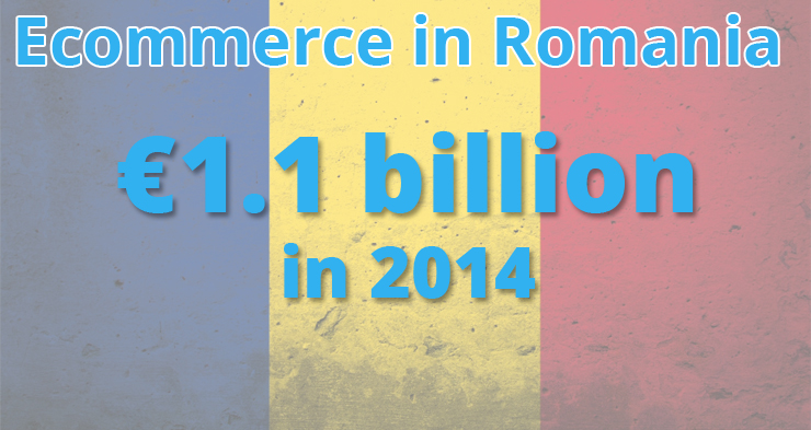 Ecommerce in Romania grew to 1.1 billion euros in 2014