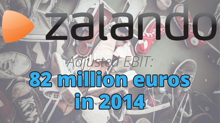 Zalando profit 2014