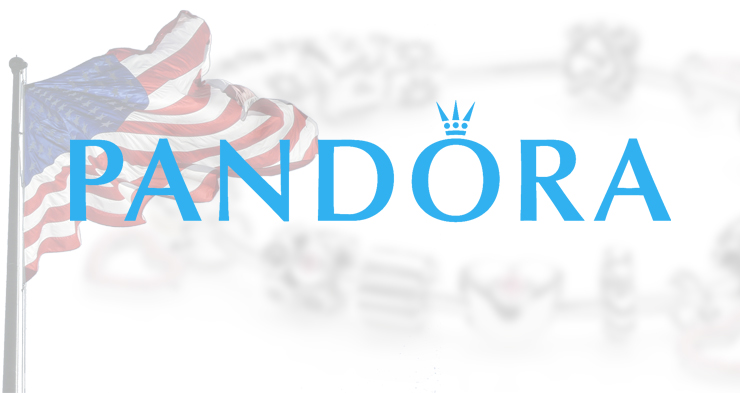 Pandora launches ecommerce site in the US