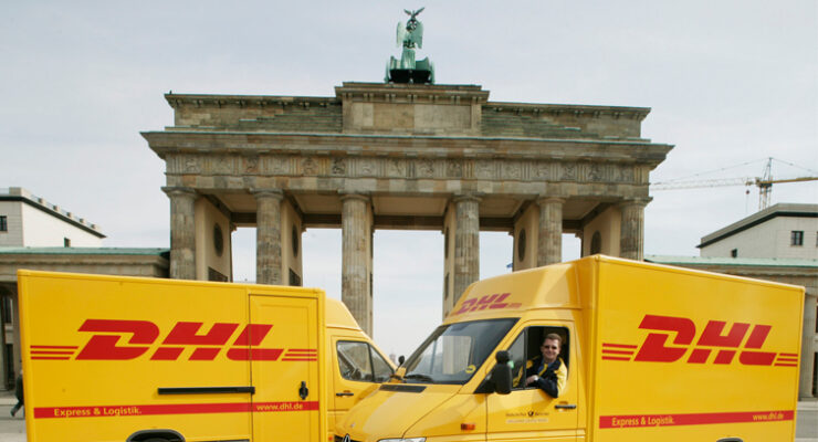 DHL Parcel in Berlin