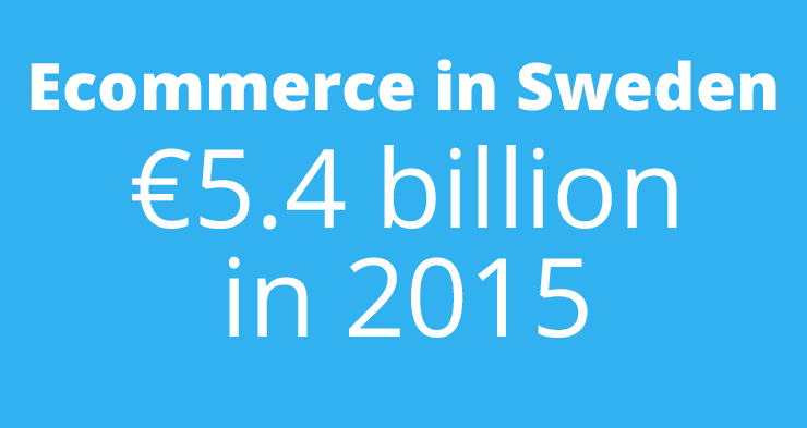 'Ecommerce in Sweden will reach turnover of €5.4bn in 2015'