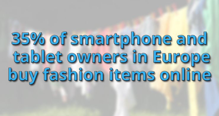 Clothing popular with European mobile users
