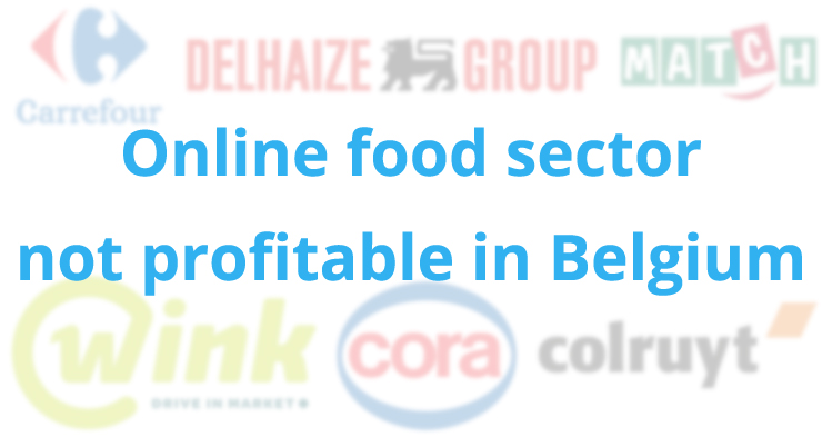 Online food sector in Belgium