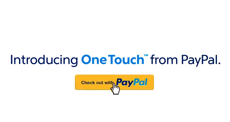 PayPal's One Touch