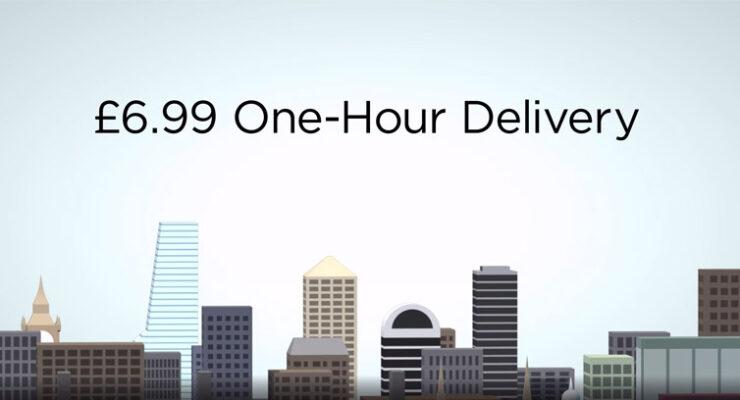 Amazon Prime Now in UK (London)