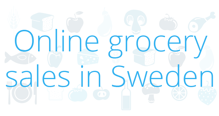 Online grocery sales in Sweden reached €320 million in 2014