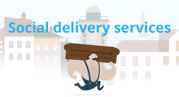 Social delivery services