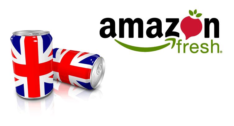 Amazon launches AmazonFresh in the UK