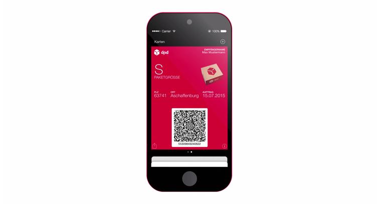 DPD introduces the mobile parcel label