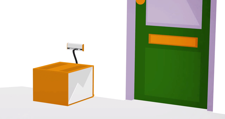 Dutch parcel company PostNL experiments with delivery box