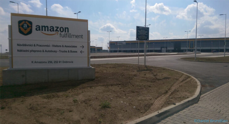 Amazon opens its latest logistics center near Prague