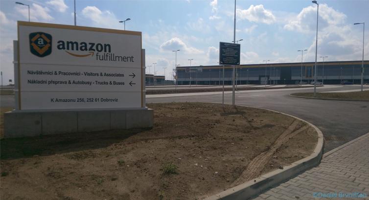 Amazon opens its latest logistics center near Prague