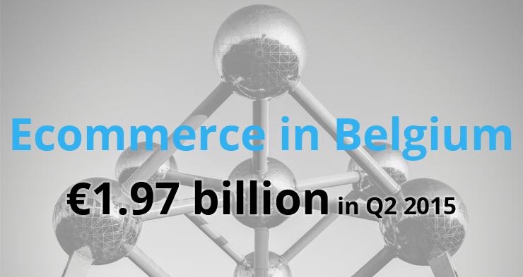 Ecommerce in Belgium: €1.97 billion in Q2 2015