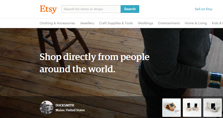 Etsy sellers disagree with increased importance seller location