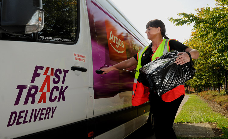 Argos introduces same-day home delivery service Fast Track