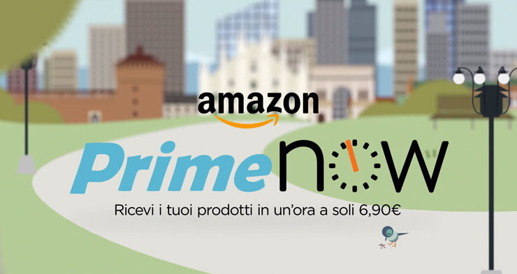 Amazon Prime Now Italy