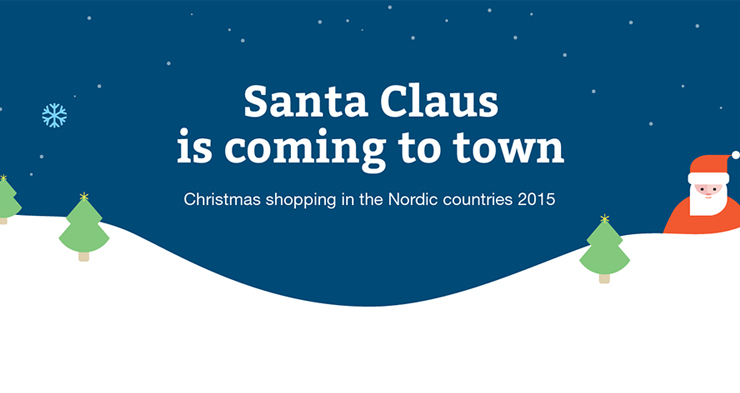 In Nordics, only Swedes like to shop Christmas gifts online
