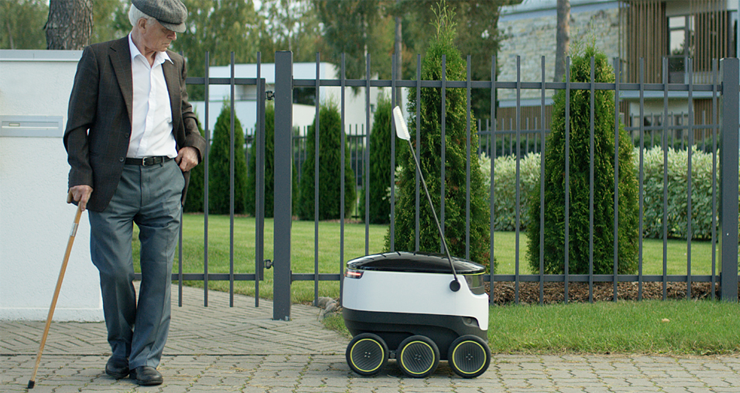 'Northern delivery robot Starship can take over the mail business'
