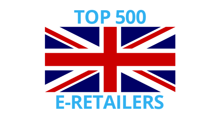 Top 500 online retailers in the United Kingdom