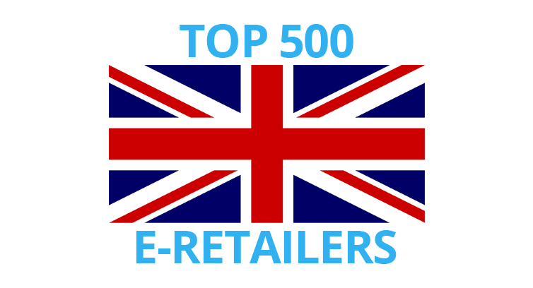 The UK's top 500 ecommerce retailers