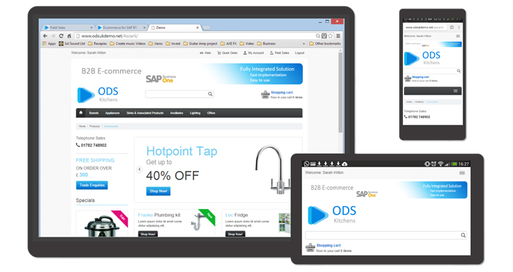 ODSNet launches B2C ecommerce software solution