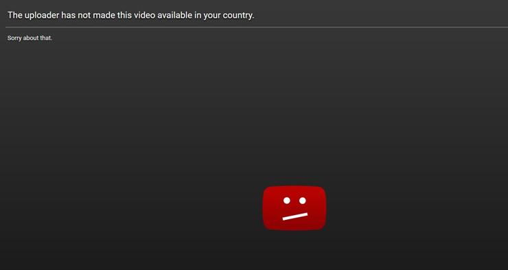 Geo-blocking is widespread throughout Europe