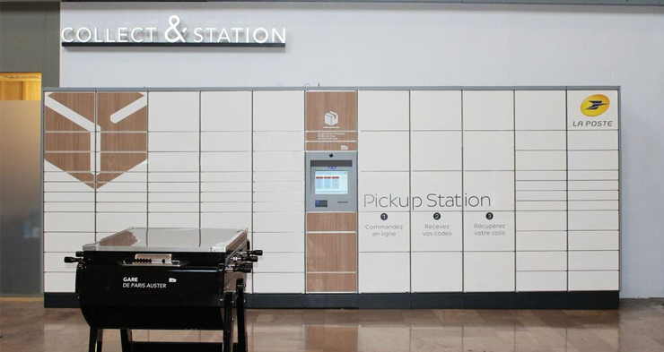 French postal company La Poste rolls out parcel lockers nationwide