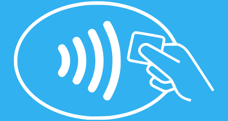 Contactless payment is getting more popular in the UK