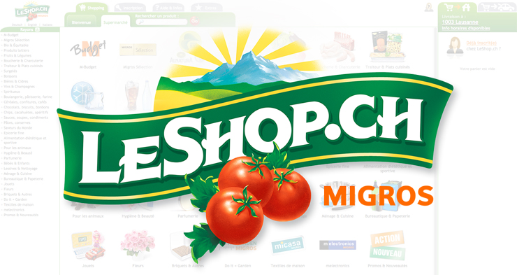 Swiss online supermarket LeShop sees sales increase by 4.6%