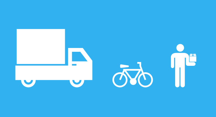 '72% of UK consumers shop more if same-day delivery is possible'