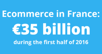 Ecommerce in France first half 2016