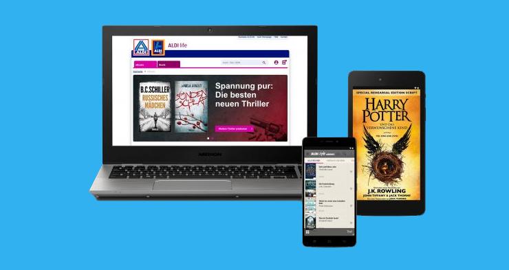 Aldi starts e-book service in Germany