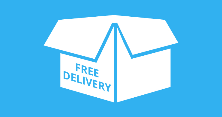 80% of European online shoppers will spend more for free delivery