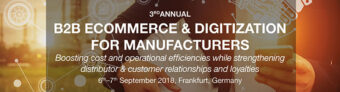 3rd Annual B2B eCommerce & Digitization for Manufacturers