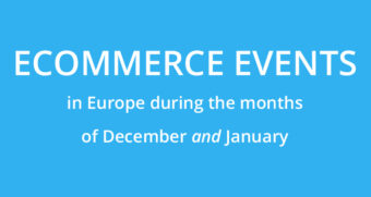Ecommerce events in Europe in December and January