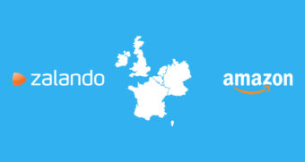 Zalando and Amazon in Western Europe