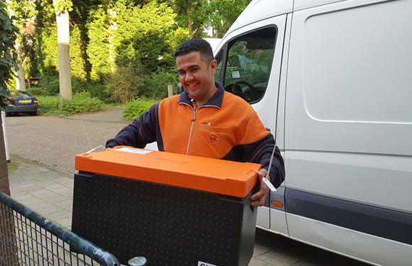 PostNL food delivery