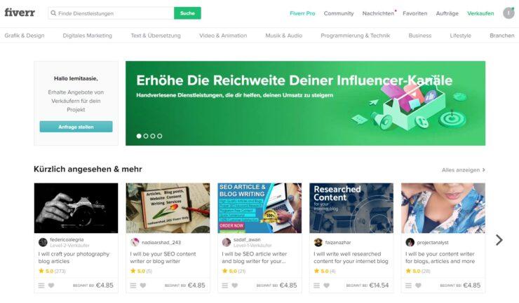 Fiverr Deutschland (Germany)