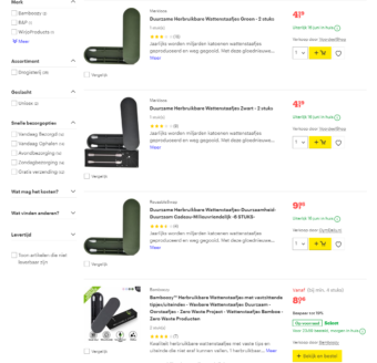 At Bol.com, the biggest online retailer in the Netherlands, you often find generic product images for products bought in China.