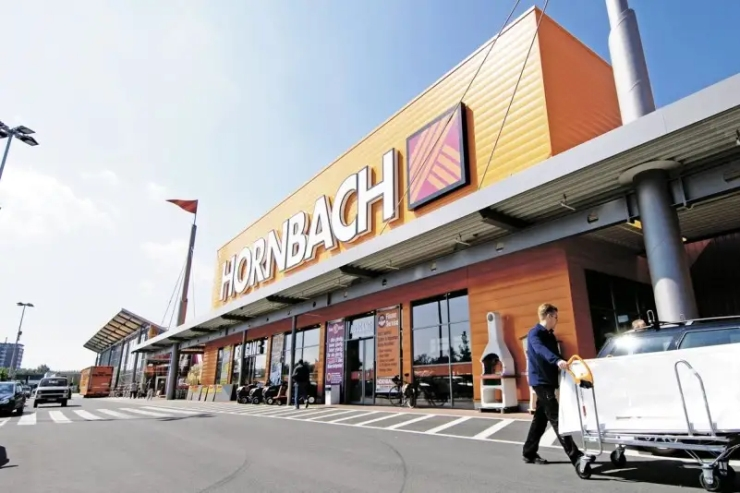 A physical Hornbach store.