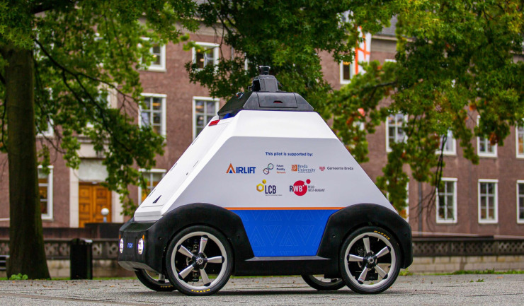 Lowie - delivery robot
