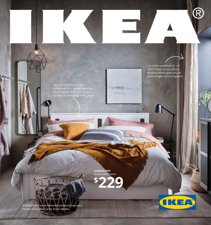 The last physical catalog of Ikea.