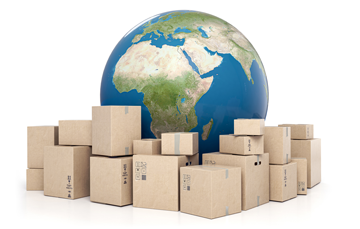 Parcel deliveries worldwide