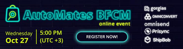 AutoMates BFCM